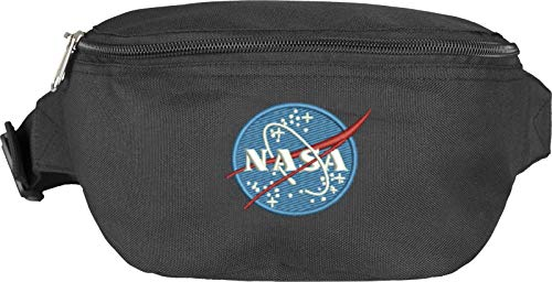 Mister Tee MT847 NASA, Hip Bag ,sac banane ,schwarz ,one size
