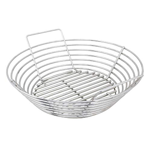 Kick Ash Basket Stainless Steel Charcoal Ash...