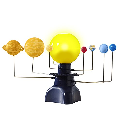 Educational Insights GeoSafari Motorized Solar System, Rotating Solar System, LED Sun & Constellation, STEM Toy, Ages 8+