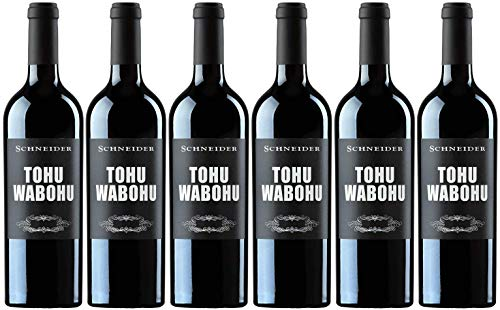 Markus Schneider Tohuwabohu 6er Paket | 2017 | Rotwein aus Deutschland | Pfalz | (6 x 0.75l)
