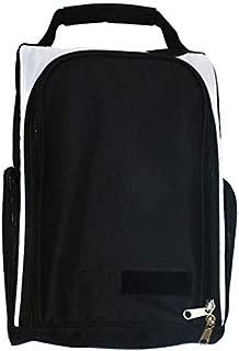 SODIAL Golf Shoes Bag Zipped Sports Bag Shoe Case Golf Shoe Bag-Zippered Shoe Carrier Bags