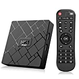 Bqeel TV Box Android 9.0 HK1 MAX / 64bit CPU RK3328 Quad-Core / 4G RAM+64G ROM / Dual WIFI 2.4/5G +...