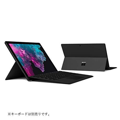 マイクロソフトSurfacePro6[サーフェスプロ6ノートパソコン]Windows10Home/12.3インチCorei5/256GB/8GBブラックOfficeHomeandBusiness2016KJT-00023