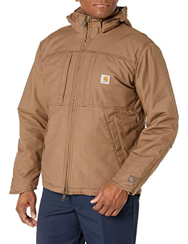 Carhartt Men's Full Swing Cryder Jacket, Canyon Brown, Medium