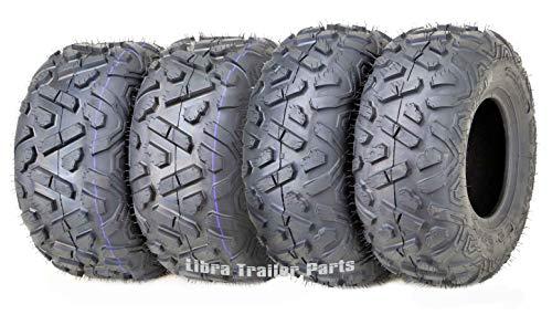 Set of 4 WANDA ATV Tires 19X7-8 Front & 18X9.5-8 4PR Rear Big Horn Style …