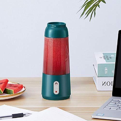 YU-HELLO Exprimidor eléctrico inalámbrico para el hogar, mini exprimidor manual de carga pequeño exprimidor portátil para viajes, gimnasio, hogar, oficina, USB, recargable