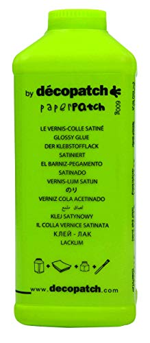 Décopatch PP600AO Klebstofflack Paperpatch (satiniert, 600g)