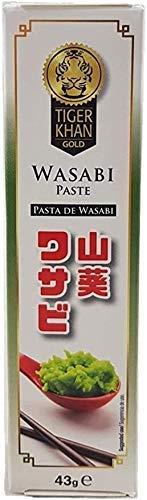 Tiger Khan - Pasta Wasabi - Condimento giapponese - Ideale per il tuo Sushi - 43 G