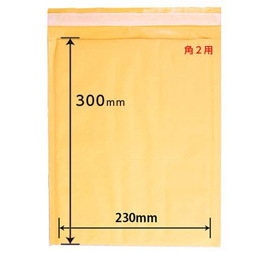 クッション封筒 【260×310+40�o/角2用】100枚セット A4サイズ楽々入る