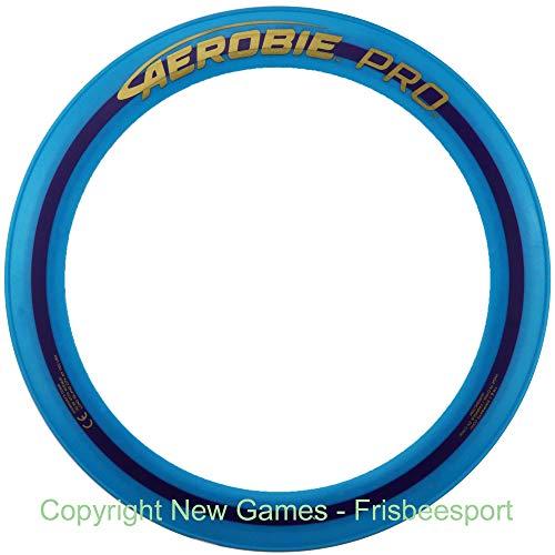Aerobie Pro Ring Wurfring präziser Flug Blue BLAU