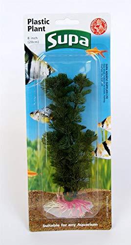 Supa Plastique Plantes sous Blister, 20,3 cm, Lot de 8