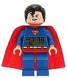 LEGO Kinder Wecker 9005701 DC Superheroes Superman Digital Uhr LED ULE9005701 EIN Angebot von ELFE