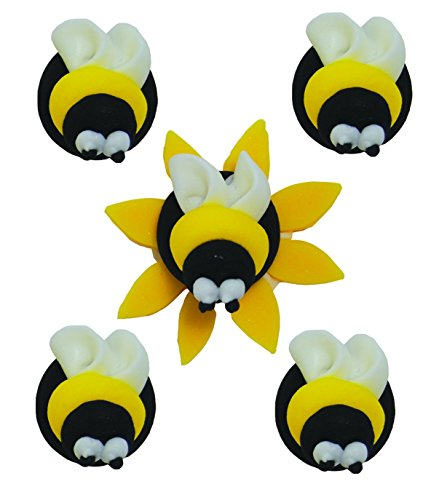 Bumble Bee Cup Cake Toppers