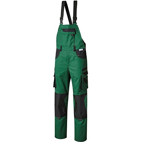 Pionier 15437-31 Latzhose Tools Plus Größe 31 in grün/schwarz