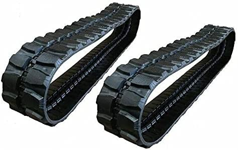 2 pc. Rio Rubber Track Regular store 400x72.5x72 made for Sale Special Price Exc Terex 18 HR Mini
