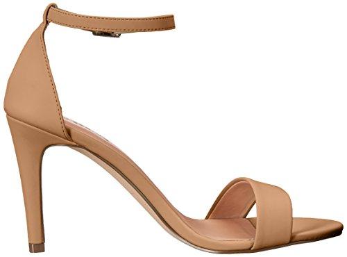 Call It Spring Women's Waylanda dress Sandal, Camel, 8.5 B US