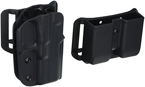 Blade-Tech Industries IDPA Competition Shooters Pack OWB Fits Glock 19/23/32 Holster, Right, Black