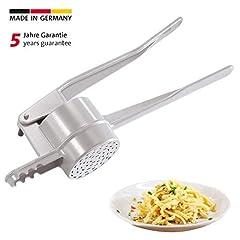 Westmark Spätzle-/Aardappelpers, Met speciaal gat voor Spätzle als handgemaakt, gegoten aluminium, lengte: 41 cm, Spätzlechef, zilver, 61202260*