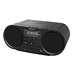 USB playback Capable of CD/CD-R playback Includes 2 x 2 W speakers Preset three stations for use with the direct jump button Dimensions (W x H x D) : 300 x 125 x 210.5 mm, Weight: Approx. 1.72 kg (without battery)