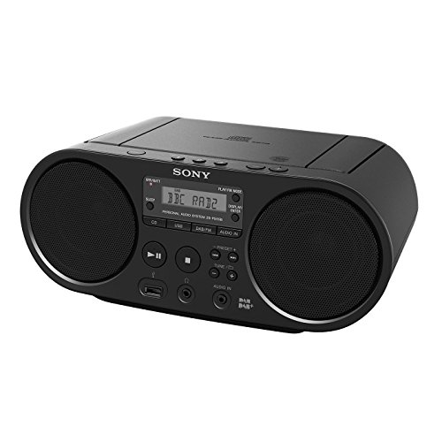 Sony ZS-PS55B Negro USB AC/DC CD Boombox Dab / + Radio
