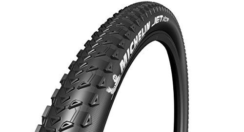 Michelin Neumático de Bicicleta Unisex Jet XCR, Negro