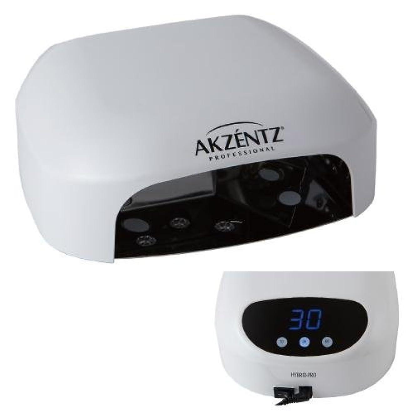噛む認識ラップAKZENTZ(アクセンツ) ハイブリットプロLEDランプ 36W/タイマー付き