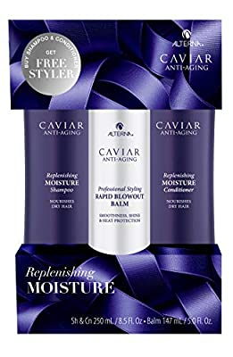 Alterna Caviar Anti-Aging Replenishing Moisture Conditioner | For Dry, Brittle Hair | Protects, Restores & Hydrates | Sulfate Free