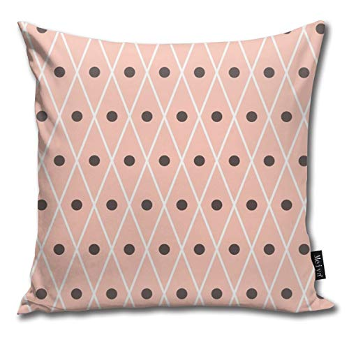 Rasyko - Funda de cojín decorativa para cama de regalo, diseño de madera pura, para el hogar