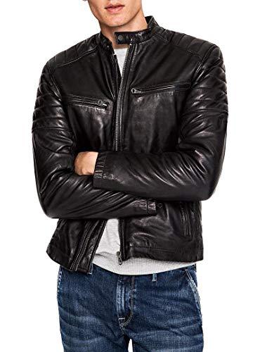 Pepe Jeans Keith Chaqueta, Negro (Black 999), XL para Hombre