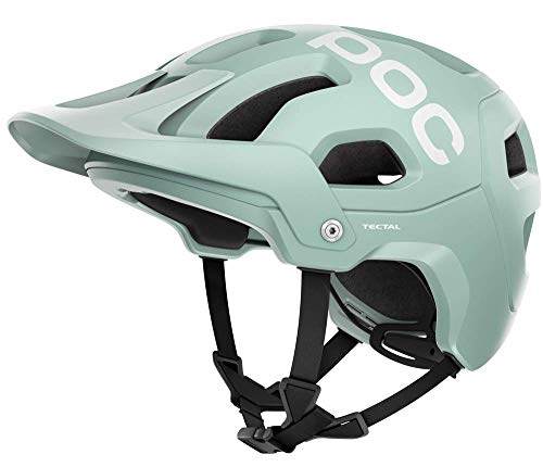 POC Tectal Casco Ciclismo Unisex Adulto, Verde Apophyllite Green Matt, MLG