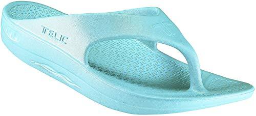 Telic Women's Fashion Flip Flop Sandal (Made in...