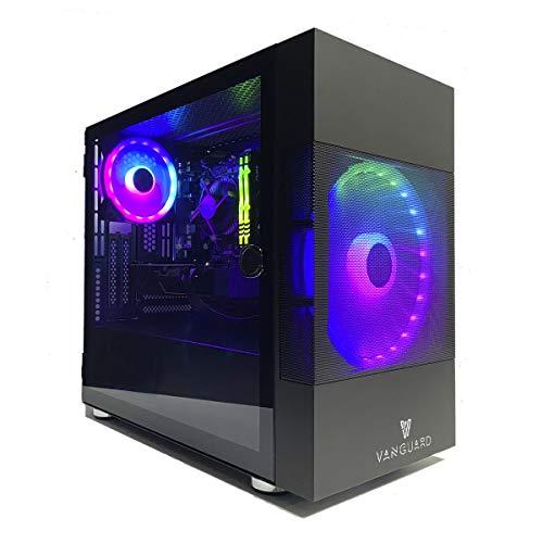 VANGUARD- Pro Gamer AMZ 2021 (CPU Intel Core i5 9400f, 6N x 4,10 GHz, T. Gráfica GTX 1650, 16GB RAM, SSD 1.000GB) + WI-FI de Regalo. pc Gamer, pc Gaming, Ordenador Juegos