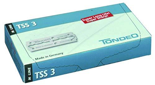 TONDEO Rasierklingen TSS 3 lang, 10 Stück