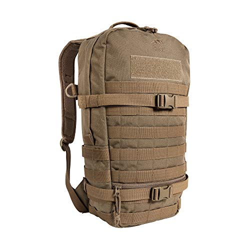Tasmanian Tiger Essential Pack L MKII Molle Kompatibler 15 L Daypack EDC-Rucksack, Coyote Brown