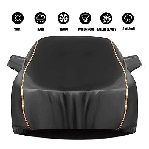 telone teloni antigrandine Compatibile con Copertura di Auto Piena Traspirante con Jaguar XE XF XJ S-Type | Impermeabile Tutto Meteo for Automobili (Color : Black, Size : XJS-Type)