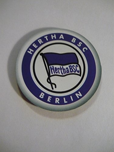 Magnet Button Fussball Bundesliga Trikot Hertha BSC Berlin - DB Gr. ca 40 mm