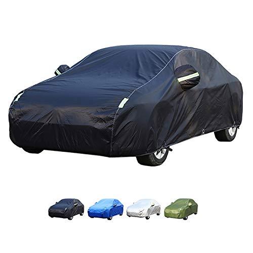 Guoguo Cubierta del Coche, Compatible con la Cubierta del Coche de Mercedes-Benz Clase R, Anti Nieve, Hielo y Anti Anti congelación, protección for Todos los climas (Color : A, Size : R 300 L)