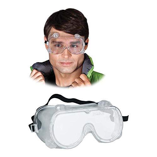 Gog-SPLASH veiligheidsbril, transparant, effen grootte, 20 stuks