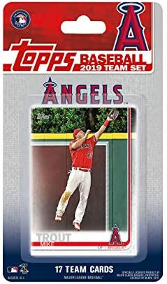 Los Angeles Angels 2019 Topps Factory Sealed Special Edition 17 Card Team Set with Mike Trout product image