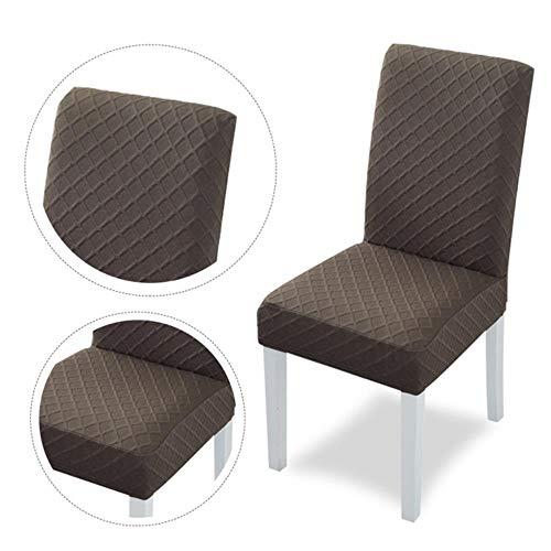 1/2/4 stuks jacquard stretch stoelhoes effen kleur universele verwijderbare eetkamerstoel beschermhoezen voor bruiloft banket hotel, c, Verenigde Staten