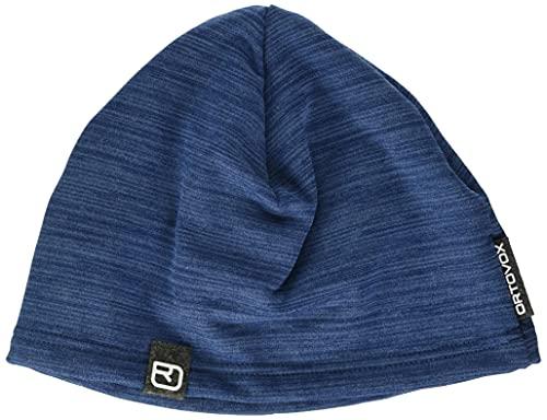 Ortovox Light Fleece Beanie, Night Blue Blend, One Size