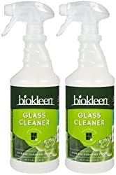 biokleen vegan glass cleaner