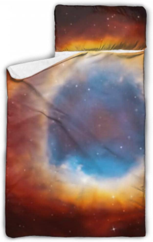 JIUCHUAN Kids Sleeping Bag Helix Nebula w Planetary Deep Recommended Limited price Nap Mat