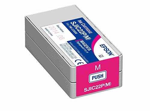 Tinten Patrone MAGENTA (ROT) für Farb-Etikettendrucker Epson ColorWorks TM-C3500