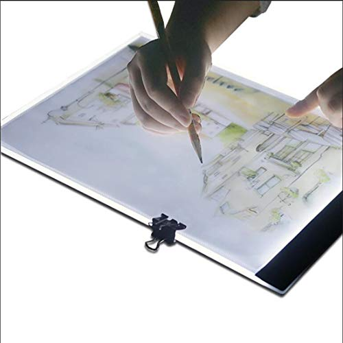 Ultradunne A4 formaat Draagbare USB Copy Board, LED Crafts Tracking Light Box Template Printing, Geschikt voor Tekening Ontwerp. Goed uitziende
