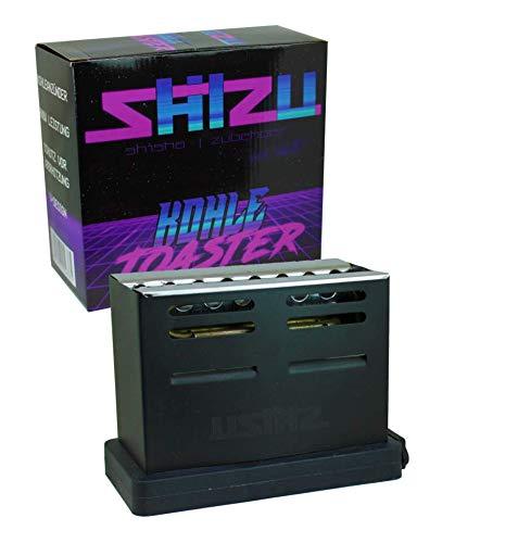 Shisha V-kolenaansteker voor broodrooster, 800 watt, verwarmt de kolen van 3 kanten op