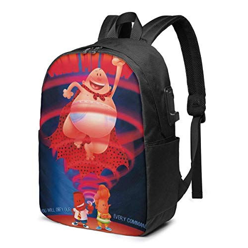 AOOEDM Underpants-Hypno-Ring Backpack USB 17 in Shoulder Bag School Laptop Rucksack Students Daypack Knapsack Outdoor