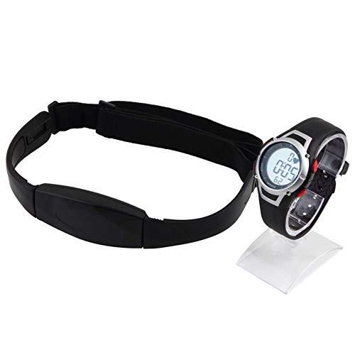 relojes deportivos frecuencia Monitor de frecuencia cardíaca para hombres Relojes polares deportivos Impermeable Digital inalámbrico Correr Ciclismo Correa para el pecho Reloj deportivo para mujer