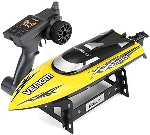 2.4 g di controllo remoto ad alta velocità Piscina e giocattoli per bambini del lago Sistema di raffreddamento ad acqua, batteria scarica