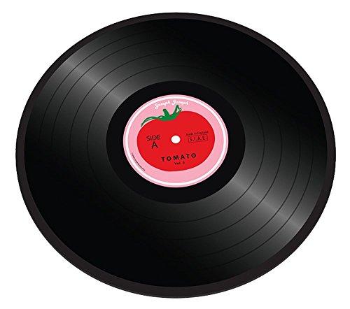 Joseph Joseph Vinyl - Schneidebrett als Vinylplatte mit Tomatenmotiv - Glas